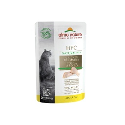 [A4710] ALMO HFC Cats 55g Natural Plus - Cuisse de poulet